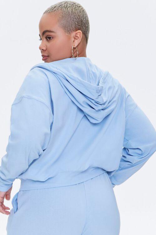 Plus Size Zip-Up Hoodie, image 3
