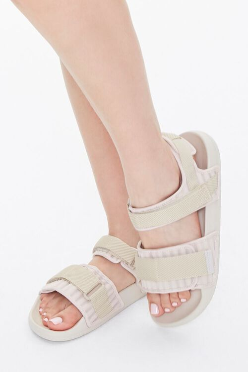 Recycled Adjustable Caged Sandals, image 1