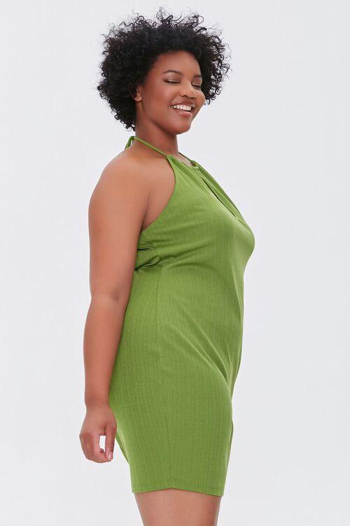 Plus Size Halter Mini Dress, image 2