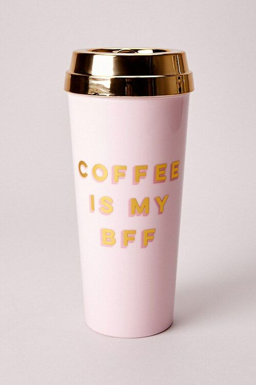 Deluxe Hot Thermal Mug – Coffee Is My BFF, image 2