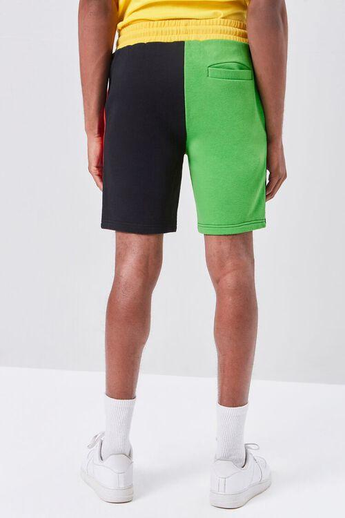 Colorblock Drawstring Shorts, image 4