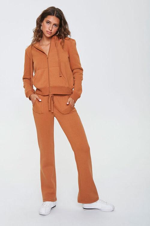 Fleece Zip-Up Hoodie & Sweatpants Set, image 1