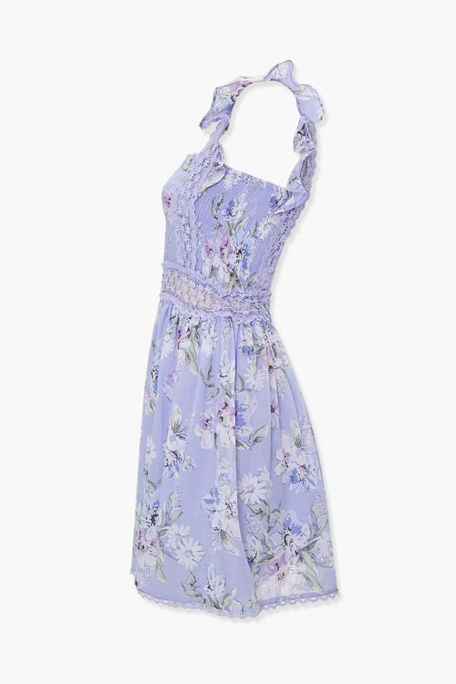 Floral Fit & Flare Dress, image 2