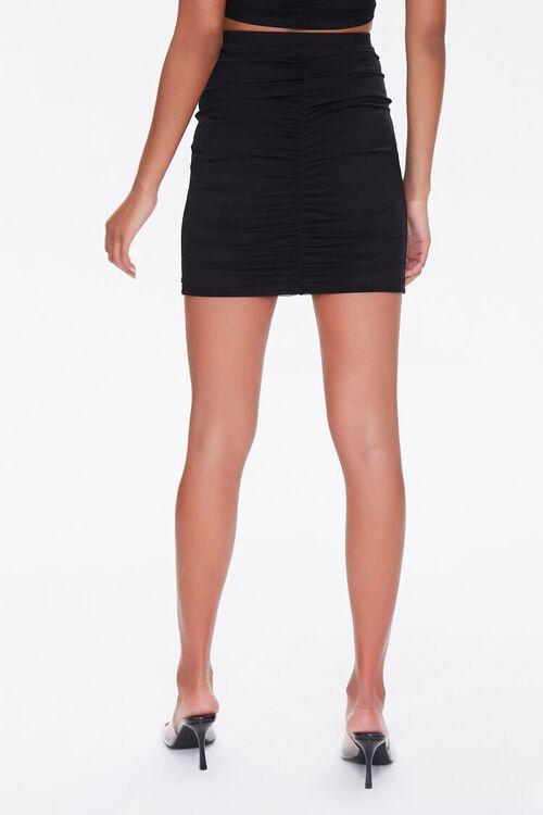 Ruched Mini Skirt, image 4