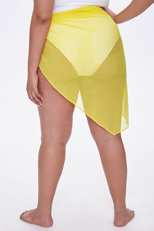 Plus Size Sarong Swim Cover-Up, image 4