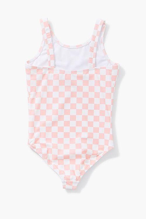 Girls Summer Graphic One-Piece Swimsuit (Kids), image 2