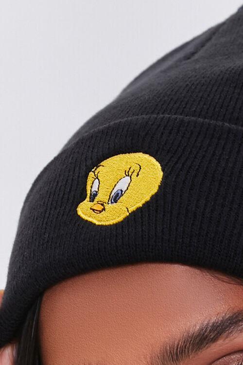 Tweety Bird Embroidered Graphic Beanie, image 3