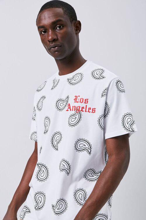 Los Angeles Paisley Graphic Tee, image 1