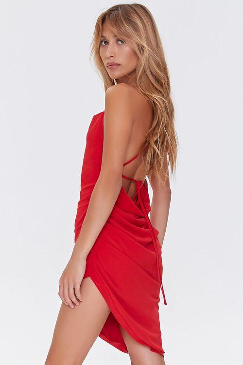 Lace-Back High-Low Dress, image 2