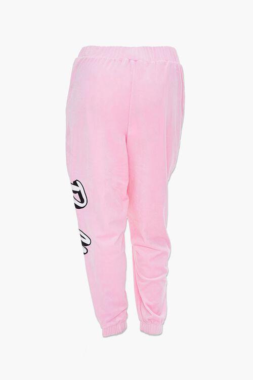 Plus Size Velour Barbie™ Joggers, image 3