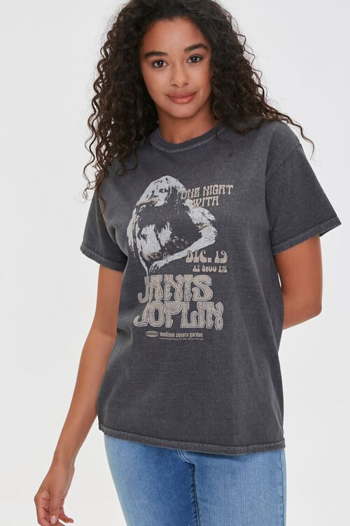 Janis Joplin Graphic Tee, image 1