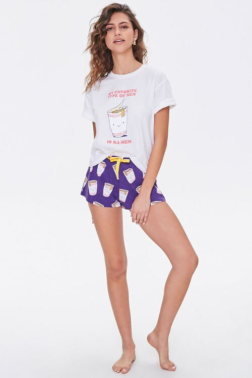 Ra-Men Graphic Tee & Shorts Set, image 4