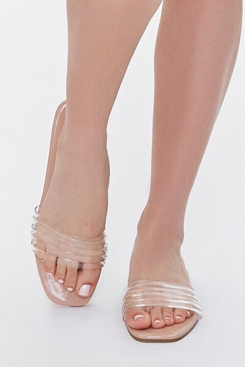 Transparent Jelly Vamp Sandals, image 4
