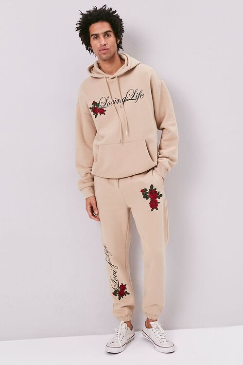 Loving Life Embroidered Graphic Hoodie, image 4