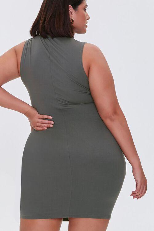Plus Size Mini Sleeveless Dress, image 3