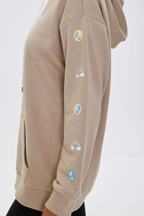 Love Embroidered Graphic Hoodie, image 3