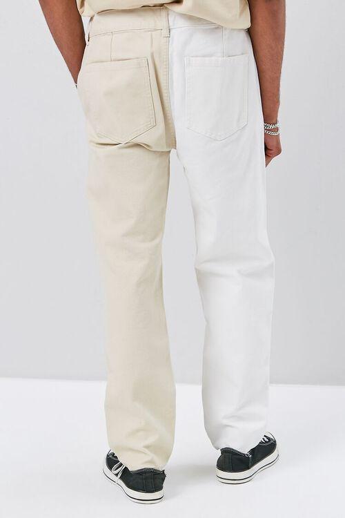 Colorblock Canvas Pants, image 4