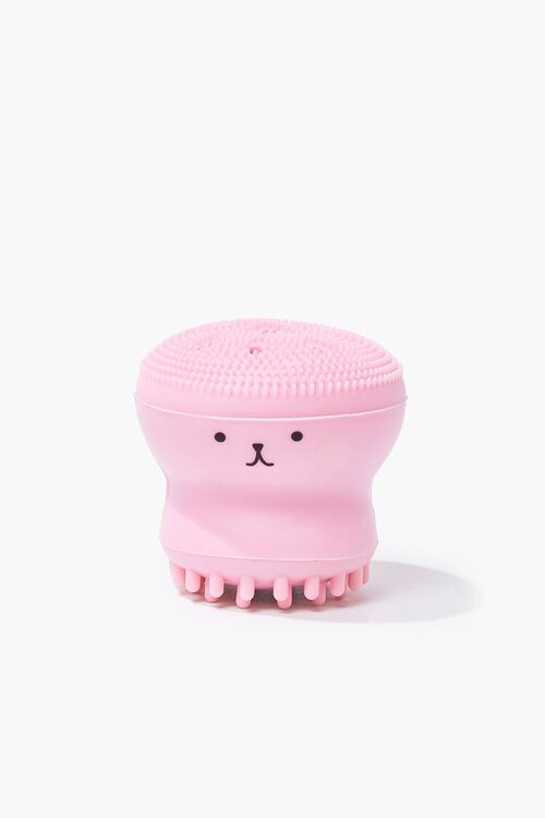 Animal Face Graphic Cleansing Brush, image 1