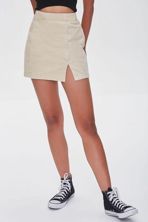 CREAM Corduroy Mini Skirt, image 2