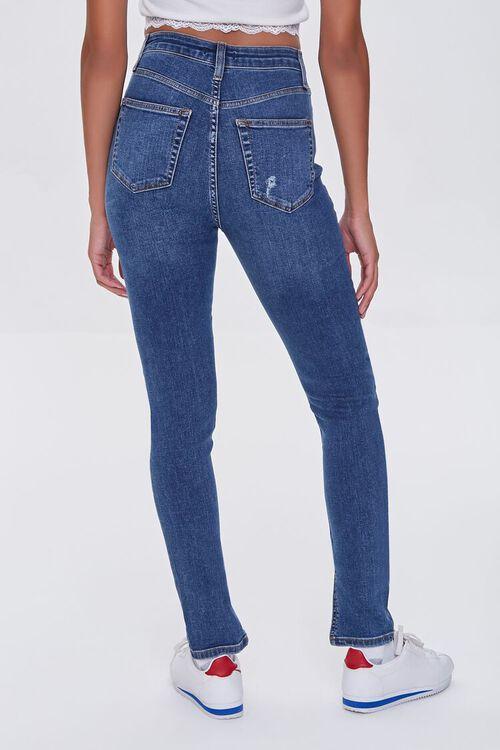DARK DENIM Premium High-Rise Skinny Jeans, image 4