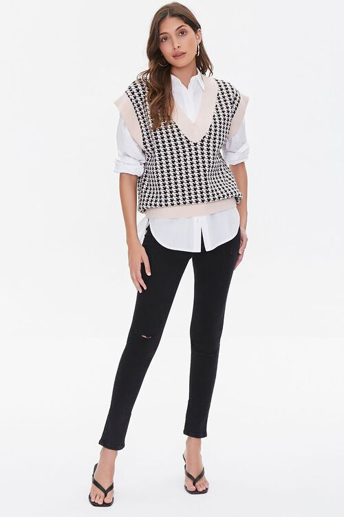 Houndstooth Sweater Vest, image 4