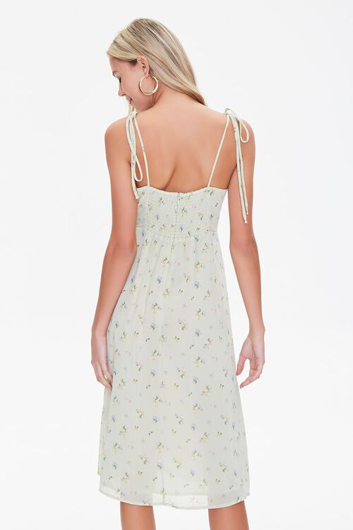 Gauzy Floral Print Dress, image 3