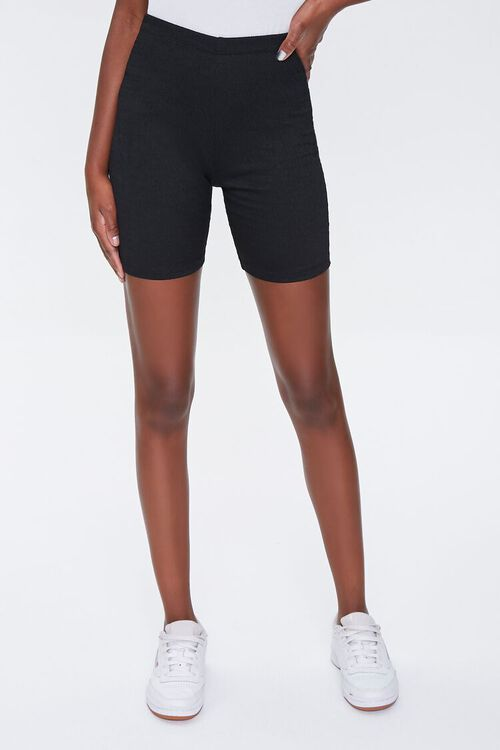 High-Rise Biker Shorts, image 2