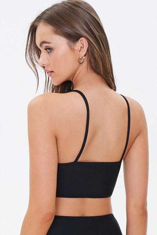 Scoop-Cut Bralette Bikini Top, image 3