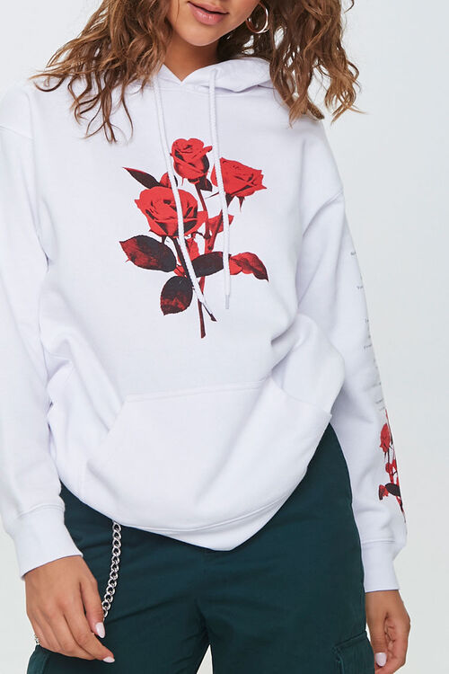 Rose Graphic Hoodie, image 1