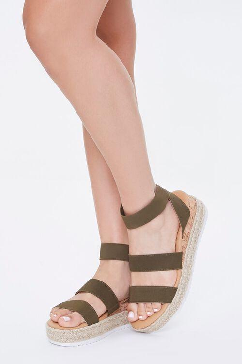 Espadrille Cork Sandals, image 1