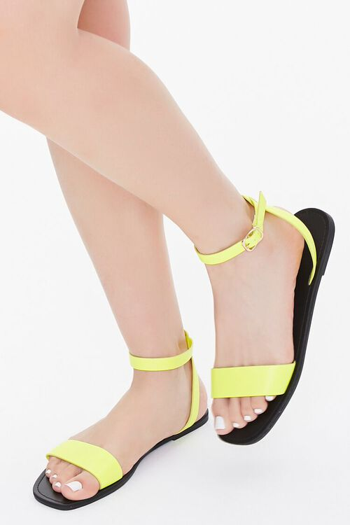Ankle-Strap Flat Sandals, image 1