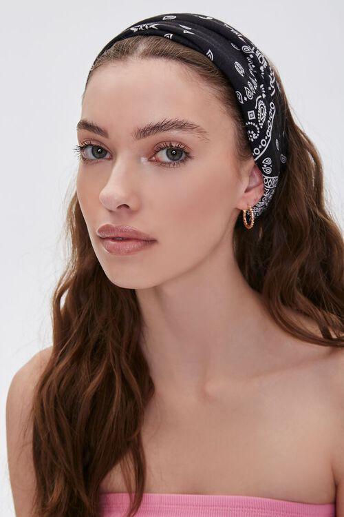 Soft Bandana Print Headwrap, image 1