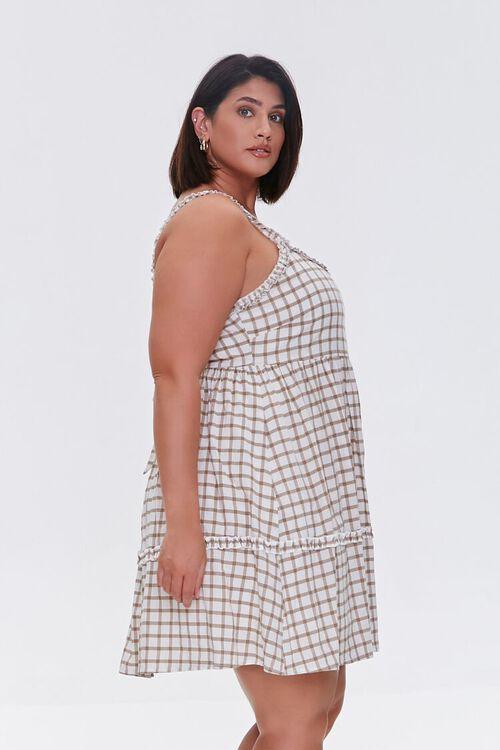 Plaid Tie-Back Dress, image 2