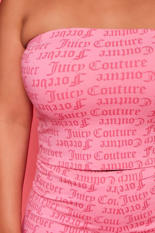 Plus Size Juicy Couture Tube Top, image 5