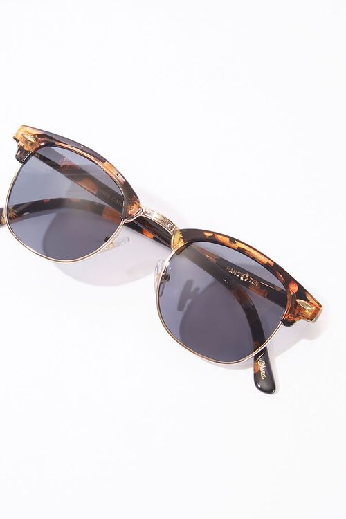 Men Tortoiseshell Sunglasses, image 3
