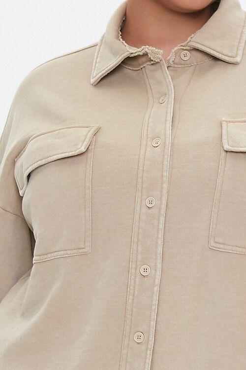 Plus Size Chest-Pocket Jacket, image 5