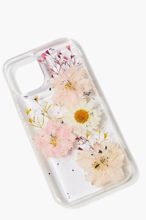 PINK/MULTI Dried Flower Phone Case for iPhone 12, image 2