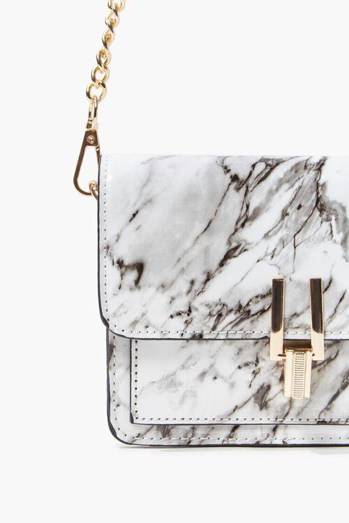 Marbled Flap-Top Crossbody Bag, image 5