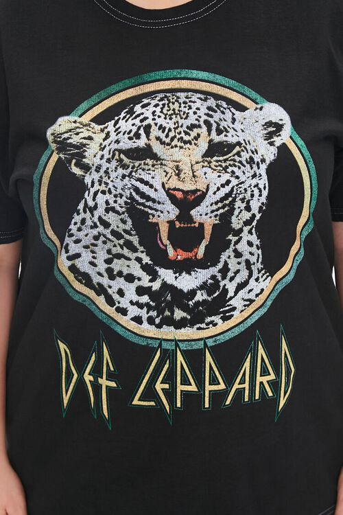 Plus Size Def Leppard Graphic Tee, image 5