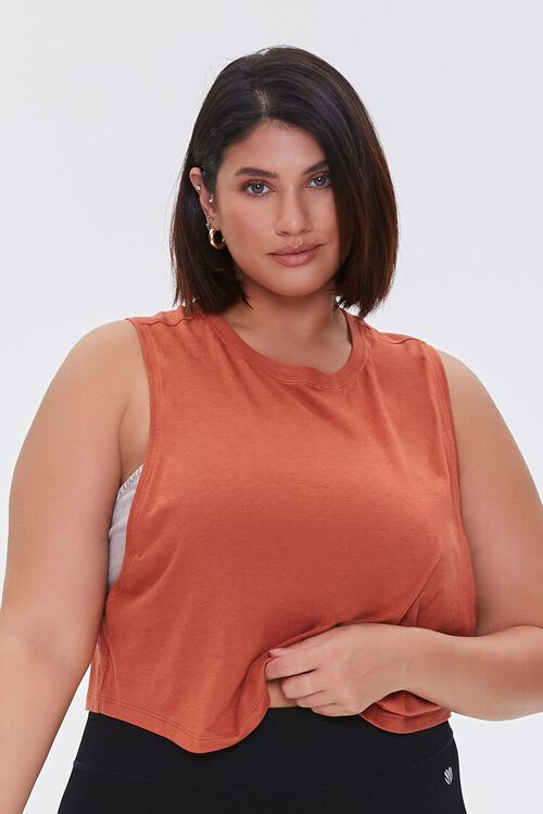 Plus Size Active Muscle Tee, image 5