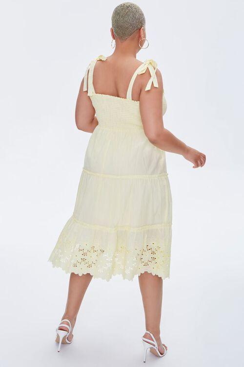 Plus Size Smocked Tie-Strap Dress, image 4
