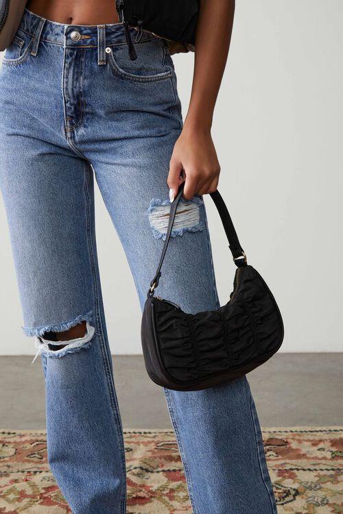 Ruched Shoulder Bag, image 1