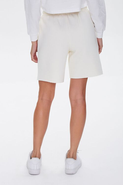 Basic Raw-Cut Drawstring Shorts, image 4