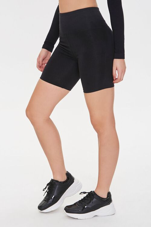 Active High-Rise Biker Shorts, image 3