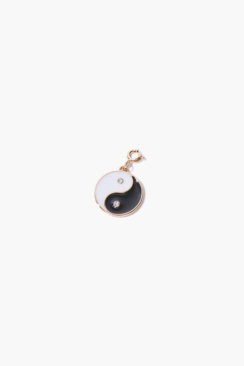Yin Yang Daisy Charm, image 1
