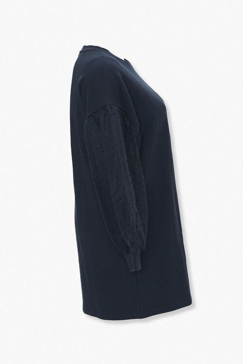 Plus Size Sweatshirt Dress, image 2