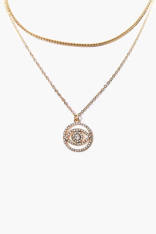 Eye Pendant Necklace Set, image 1