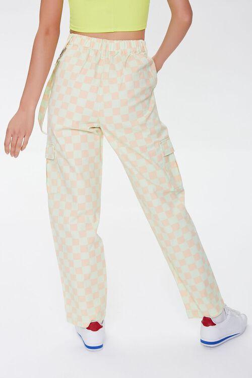 Checkered Cargo Pants, image 4