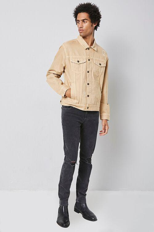 Distressed Denim Jacket, image 4