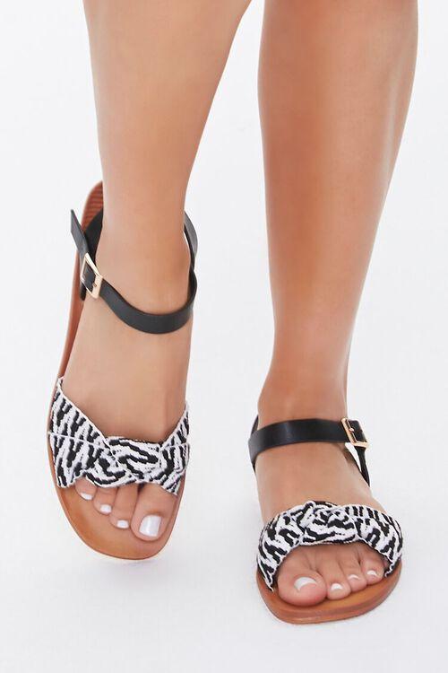 Geo Print Sandals, image 2
